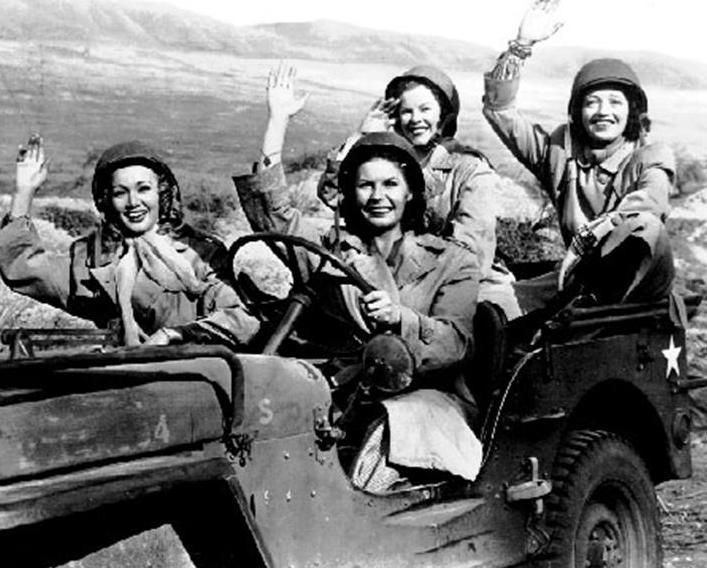 Four Jills in a Jeep movie